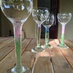 Hand Blown Glass Goblets